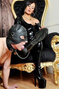 Think, Domination man ridingboots woman not understand