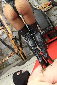Dominatrix instructions education german live that would